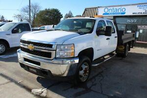 2012 Chevrolet Silverado 3500 Crew Cab WT Dual wheels