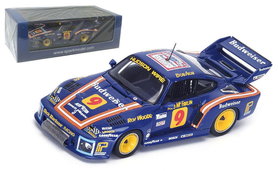 Los mejores precios y los estilos más frescos. Spark 43SE79 43SE79 43SE79 Porsche 935  9 ganador 12H Sebring 1979-escala 1 43  artículos de promoción