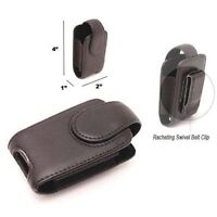 Cell Phone Holster Pouch For Motorola V3 Razor Leather