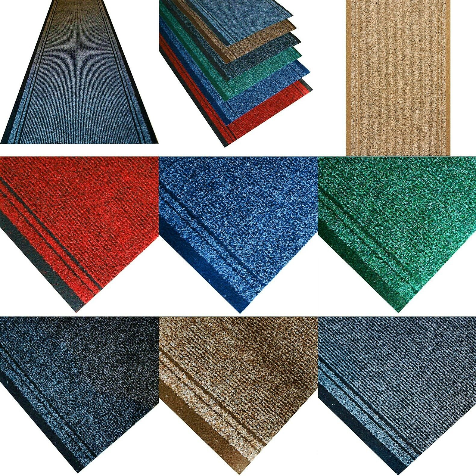 markiert rutschfest teppich fu matte teppichl ufer flur. Black Bedroom Furniture Sets. Home Design Ideas