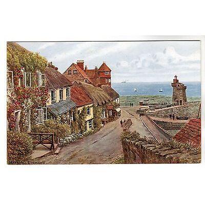 Mars Hill - Lynmouth A R Quinton Art Postcard *3194