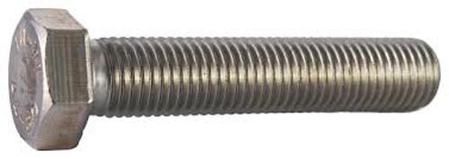 "Stainless Steel 1//2-20 X 1//2/"" UNF Hex Bolt pack  of 2"