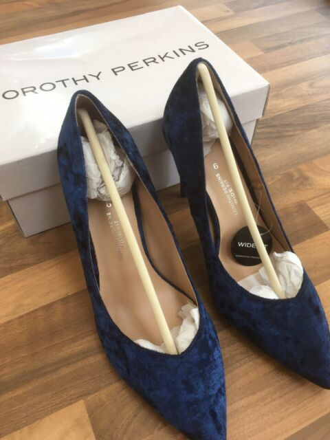 Dorothy Perkins Wide Fit Navy Blue
