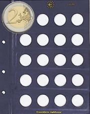 Fogli VISTA Generici per MONETE DA 2 EURO COMMEMORATIVI- ditta Leuchtturm