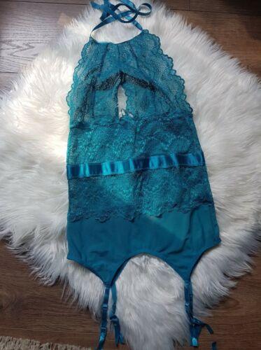 Ann Summers Darrah Cami Suspender Teal S 8-10 M 12-14 New Tags
