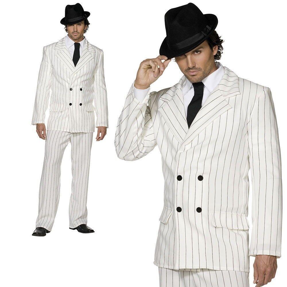 Adult Weiß Gangster Costume 20s Sexy Mafia Mafia Mafia Boss Mens Fancy Dress Outfit New | Deutschland Online Shop  4b6ccb