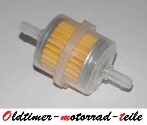 Benzinfilter Papierfilter ø6mm passend für MZ SM SX RT 125 150 250 251