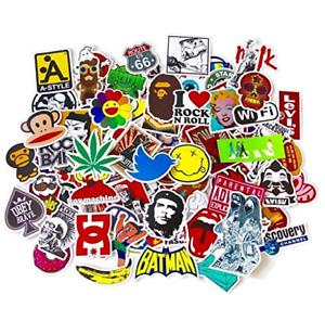 100pcs-Pack-Cool-Vinyl-Waterproof-Sticker-Skateboard-Pad-Laptop-Car-Snowboard