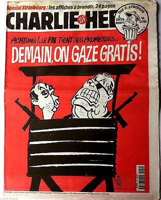 """Charlie Hebdo N°249 Du 26/3/1997 """"carpentras.... Mon Partie Ratonnait...!"""