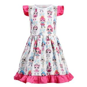 Girls-Princess-Dress-Kids-Casual-Party-Birthday-Fancy-Princess-Dresses-K107
