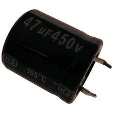 Elko Kondensator Jamicon HS 450V 47uF RM10 22x25mm 105°C Snap-in 854279