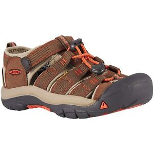 e731ddd629f7c Keen Newport H2 Dark Earth Spicy Orange Youth Hiking Outdoor ...