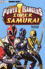 """POWER RANGERS SUPER SAMURAI """"Memory Short"""" Graphic Novel NEW"""