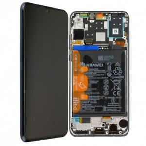 D-039-origine-Huawei-p30-Lite-ecran-LCD-avec-cadre-batterie-mar-l01a-Noir-Black
