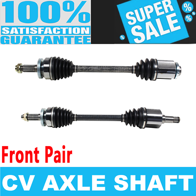 FRONT LEFT /& RIGHT CV Axle Shaft For HYUNDAI ENTOURAGE 07-09 V6 3.8L 3778cc