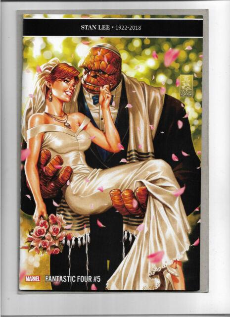 FANTASTIC FOUR #5 ***THING WEDDING MARK BROOKS VARIANT (2019) NM MARVEL SLOTT