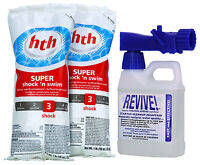 Revive Swimming Pool Start-up Opening Chemical Kit For Pools Up To 12,000 Gallon on Sale