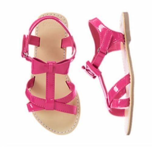 NWT GYMBOREE Pretty Poppy Pink Bow Sandals shoes  5  6 7 8 9 10 3