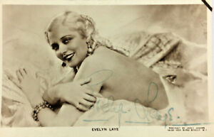 EVELY-LAYE-ACTRESS-AUTOGRAPH-SIGNED-REAL-PHOTO-POSTCARD-RPPC