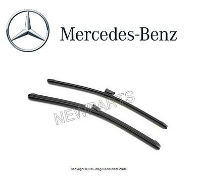 Mercedes S550 S63 W217 AMG S65 AMG Coupe Windshield Wiper Blade Set Genuine NEW