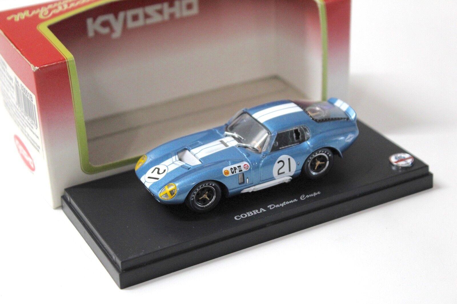 1 43 Kyosho Shelby Cobra Daytona Daytona Daytona coupé Japon GP  21 New chez Premium-modelcars 526708