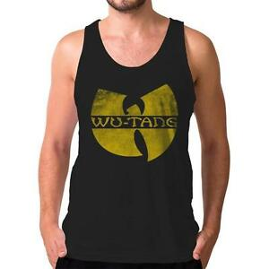 4e41ccb36b6 Wu-Tang Clan Distressed Logo Singlet Tank Top WuTang Tour Tickets ...