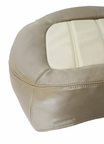 2002 03 04 05 Ford Explorer Left Front Bottom Replacement Leather Seat Cover Tan