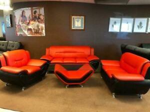 4 Piece Set! (Sofa, Loveseat, Chair & Coffee Table) Edmonton Edmonton Area Preview