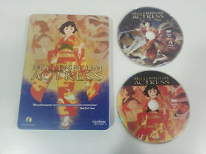 Millennium-Actress-Edicion-Especial-Steelbook-2-x-DVD-Satoshi-Kon-Espanol-Japone