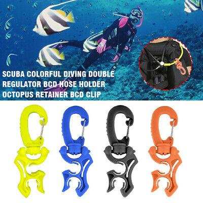 Scuba Diving Magnetic Regulator Octopus Hose Holder Clip Retainer Clamp