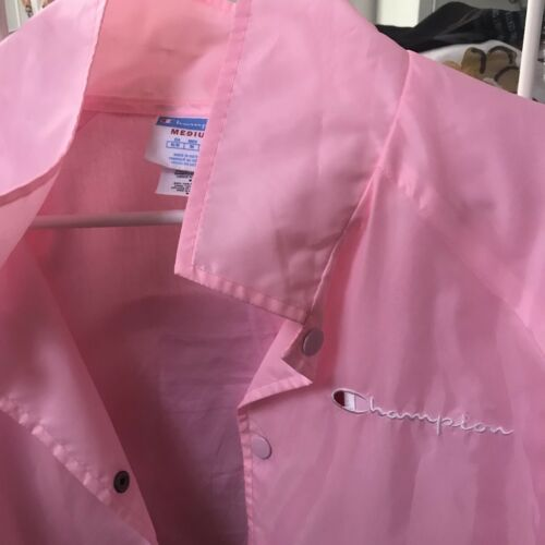 Womens Størrelse Pink Hot Elite Champion Medium Windbreaker gwFqR