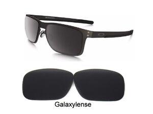 7298075838c8c Galaxie Rechange Lentilles pour Oakley Holbrook Métal Oo4123 Noir ...