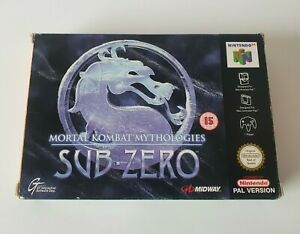 Mortal Kombat Mythologies: Sub-Zero - N64 - Nintendo 64 - PAL - UKV