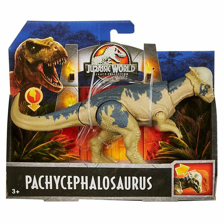 Jurassic World LEGACY COLLECTION PACHYCEPHALOSAURUS FIGURE DINOSAUR 2018 FLN65