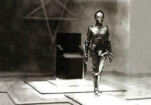 B&W PHOTO STILL OF MARIA METROPOLIS BY FRITZ LANG 1927 A3 FILM POSTER PRINT