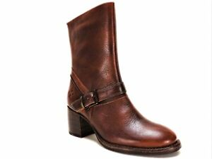 376dbe7e72e Patricia Nash Women's Lombardy Buckle Mid Boots Whiskey 9 M ...