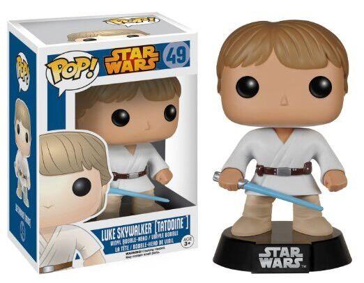 Star - wars - luke skywalker tatooine funko pop vinyl.neu verpackt  - verkäufer.