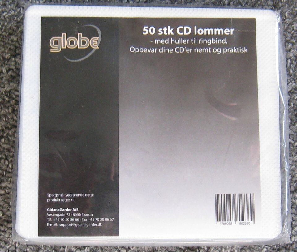 CD/DVD Lommer