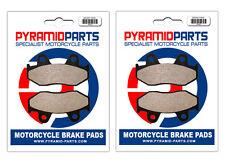 Honda ATC 250 R 85-86 Front & Rear Brake Pads Full Set (2 Pairs)