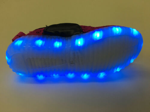 Infant Toddler Boy/'s /& Girl/'s Light Up USB Rechargeable Athletic Sneakers shoes