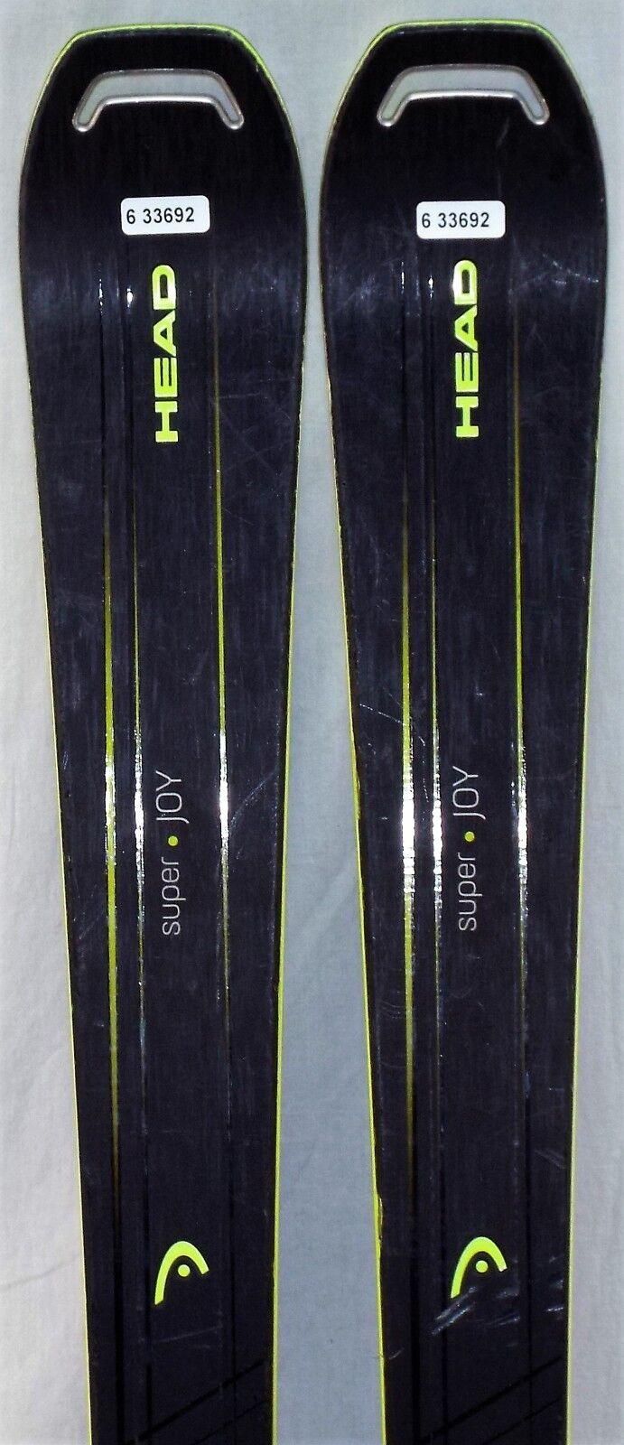 17-18 Head Super Joy Used Woman's Demo Skis w   Bindings Size 158cm  high discount