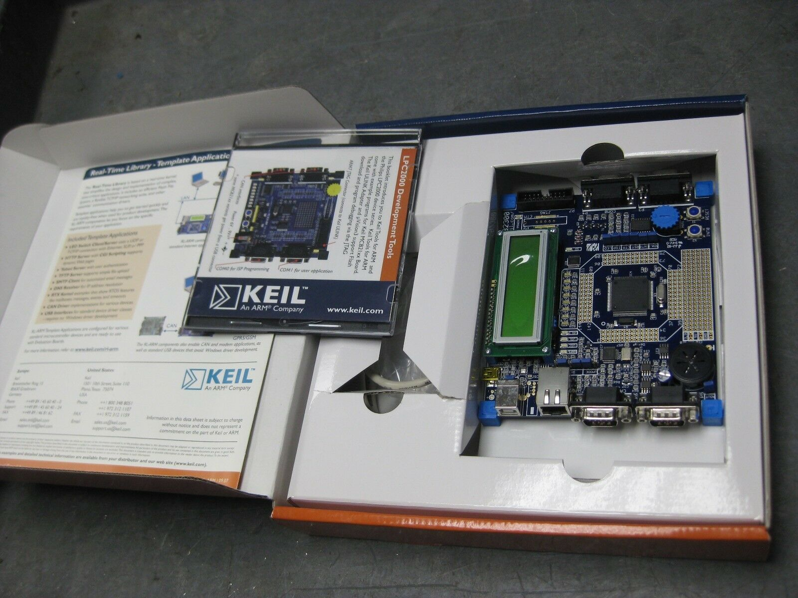 KEIL MCB2370 Evaluation Board for Lpc2370
