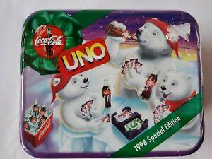 Uno 1998 Special Edition Coca Cola Mattel