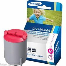 GENUINE SAMSUNG CLP300 CLX2160n CLX3160fn Color Printer MAGENTA TONER CLP-M300A