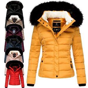 2020 Neu Winterjacke Winter Damen Jacke Kurz Stepp Warme Parka Mantel Gr.S-5XL