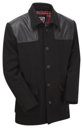 Mens New Vintage MOD Worker Skinhead Punk Donkey Wool Jacket Coat Overcoat