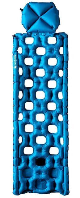 Klymit Inertia O Zone Blue Camping Sleeping Pad w/ Pillow, BRAND NEW
