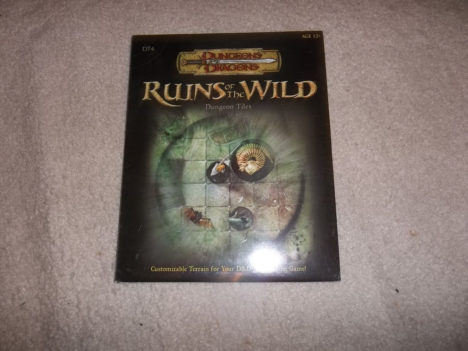 D&D D20 WOTC DT4 Dungeon Tiles Ruins of the Wild SW