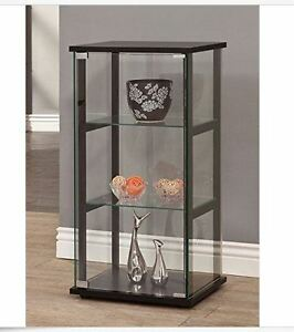 Merveilleux Image Is Loading Curio Cabinet Display Case Small Storage Collectibles Glass
