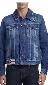 Saint Mens Saint Mens Denim JacketXl1800 Laurent Laurent XN8wOZkPn0